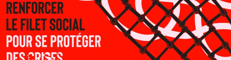 Renforcer le filet social pour se protéger des crises: La Coalition Main Rouge invite à signer une pétition